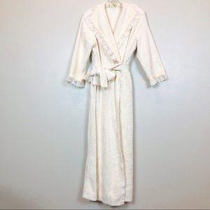 Vintage Herbcraft Neiman Marcus Chenille Robe